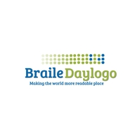 Braile Day Logo template