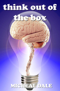 brain bulb think out of the box โปสเตอร์ template