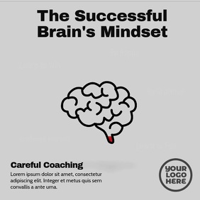 Brain Mindset Five Points Post