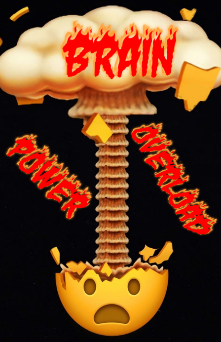 Brain Power OverLoad 小报 template