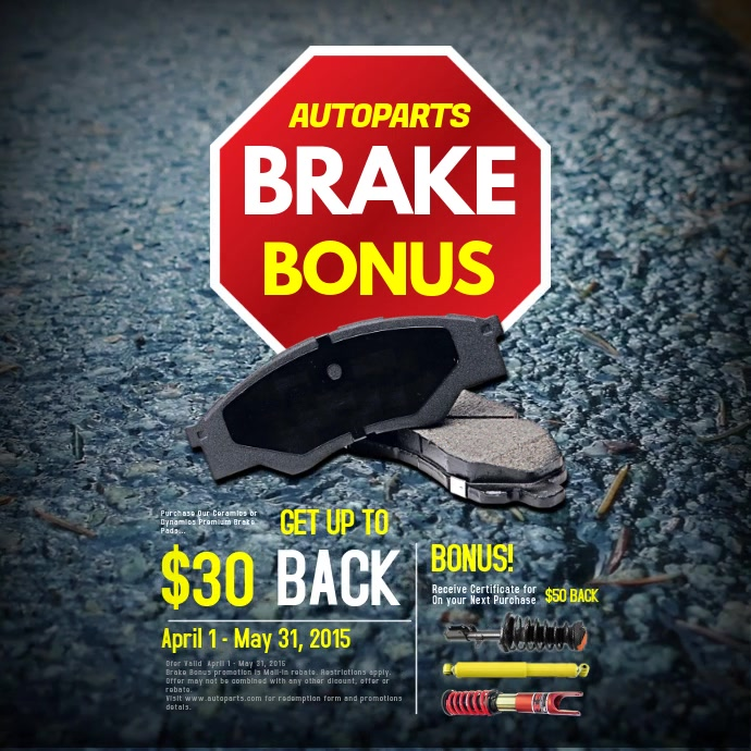 Brake Bonus Video Post