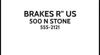 BRAKE SHOP Digital Display (16:9) template