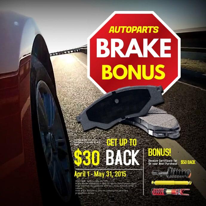 Brakes Bonus Video Post template