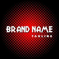 BRAND-logo template