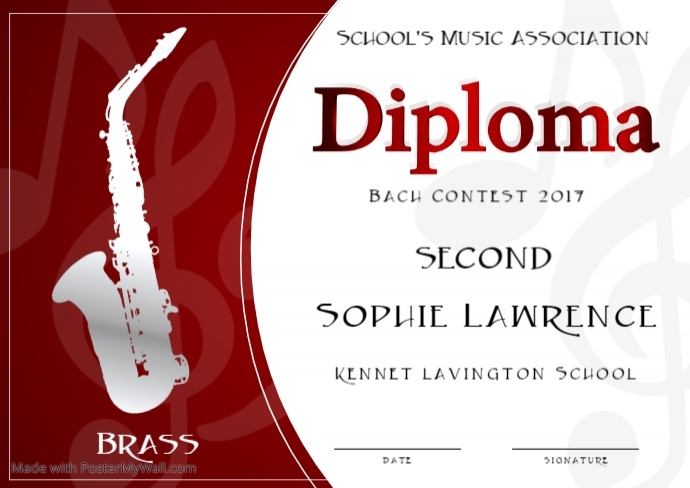 Brass Instruments Contest