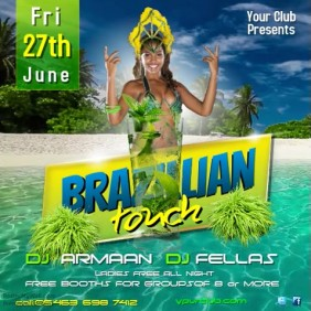 Brazilian Touch party Video Initation