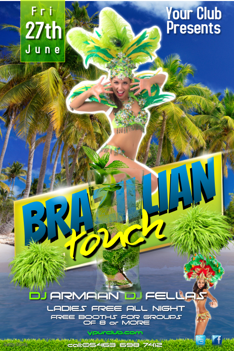 Brazilian Touch Poster