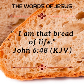 Bread of Life Template