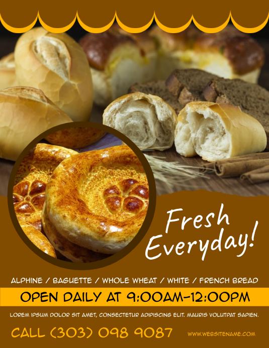 Bread Shop Flyer