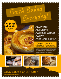 Bread Shop Flyer