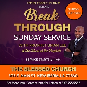 BREAK THROUGH SUNDAY SERVICE