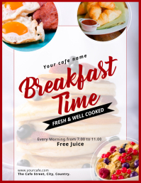 Breakfast Flyer template