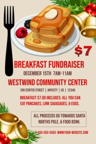 pancake breakfast fundraiser flyer template koni polycode co