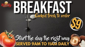 Breakfast Promo Video Template