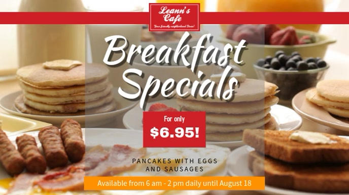 Breakfast Special Video Template