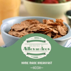 Breakfast Video Instagram Template