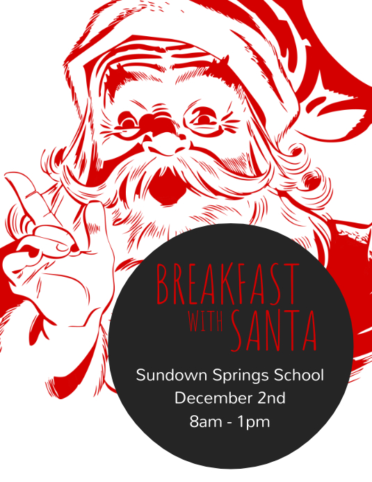 Breakfast With Santa Flyer