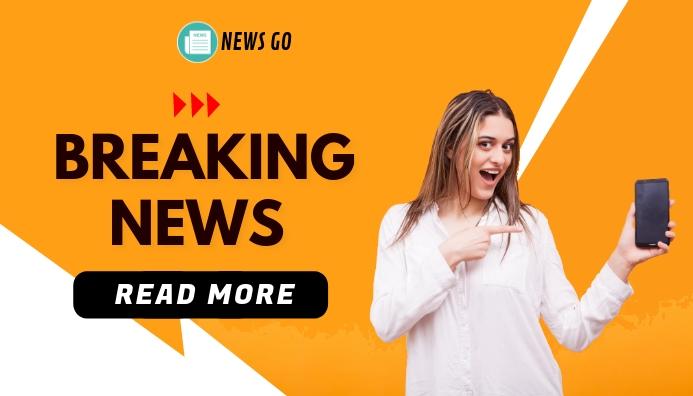 Breaking News Blog Header template