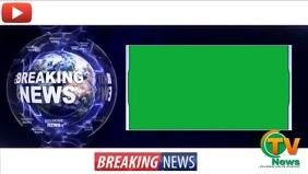 Breaking News Youtube template