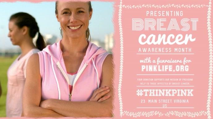Breast Cancer Awareness Digital Display Video Template