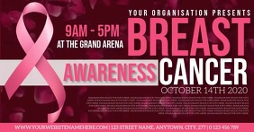 BREAST CANCER AWARENESS EVENT TEMPLATE Facebook Shared Image