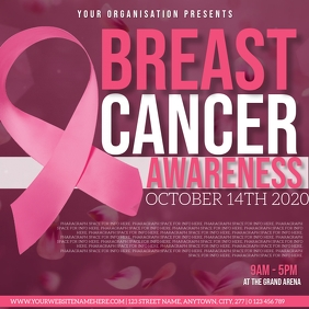 BREAST CANCER AWARENESS EVENT TEMPLATE