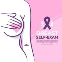 Breast Cancer awareness flyer/logo Ilogo template