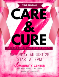 free breast cancer brochure templates - event flyer templates postermywall