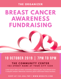 Breast Cancer Awareness Fundraising Flyer