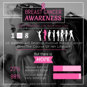 Breast Cancer Awareness Instagram Image
