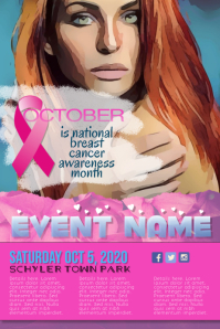Breast Cancer Awareness Month Flyer Poster