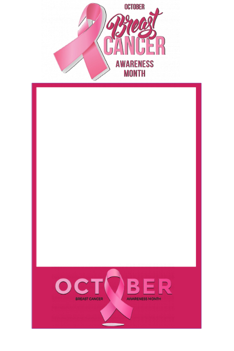 Breast Cancer Awareness Party Prop Frame