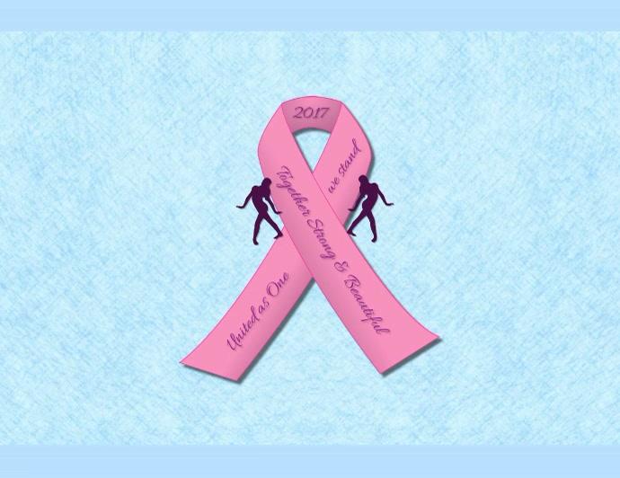 Breast Cancer Awareness Video Flyer Løbeseddel (US Letter) template