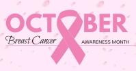 Breast Cancer Изображение, которым поделились на Facebook template