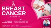 Breast Cancer Digital na Display (16:9) template
