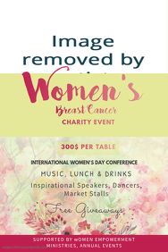Breast Cancer Event Poster Template