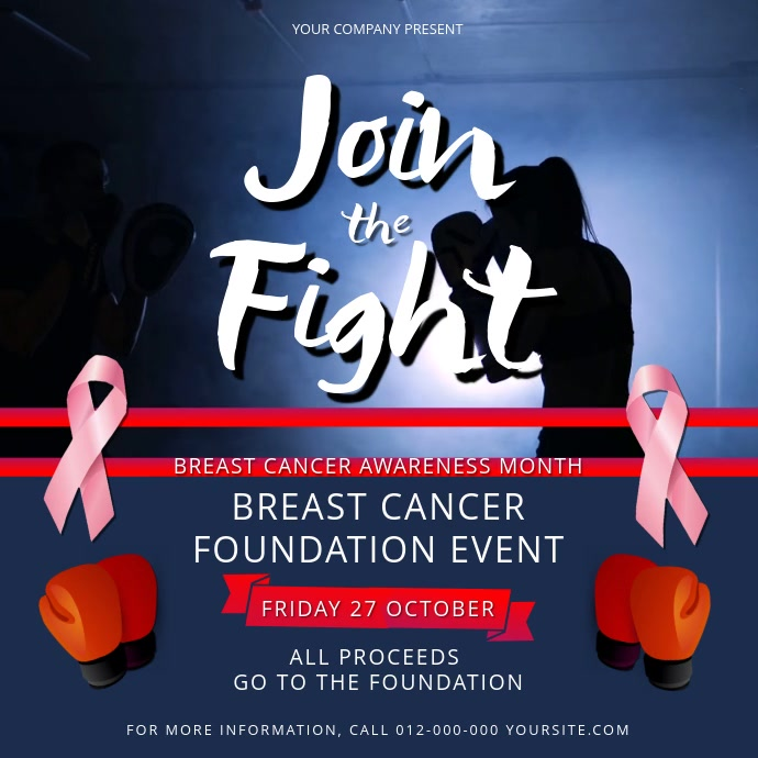 Breast Cancer Foundation Event Square Video