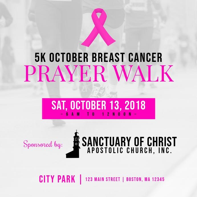 Breast Cancer Prayer Walk