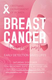 Breast Cancer Template Boulevardzeitung