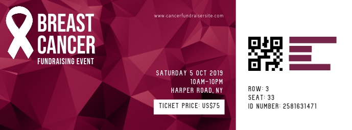 Breast Cancer Ticket
