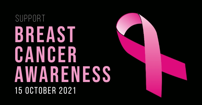 BreastCancer Facebook 活动封面 template