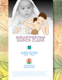 Breastfeeding Basics Class event flyer