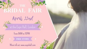 Bridal Fair Expo Facebook Cover Video