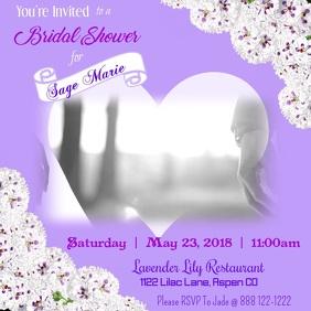 Bridal Invitation Template