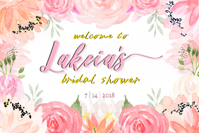 Bridal Shower Board