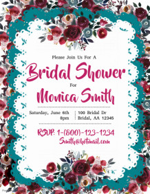wedding shower flyer templates mersn proforum co