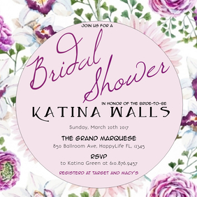 70 customizable design templates for bridal shower flyer postermywall