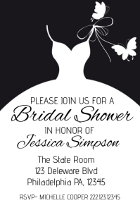Customizable Design Templates For Bridal Shower Event PosterMyWall - Bridal shower flyer template
