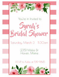 980 Customizable Design Templates For Bridal Shower Postermywall