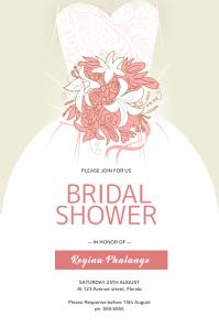 Bridal Shower Flyer Template